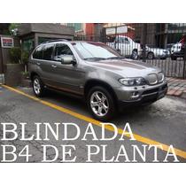 Bmw X5 2006 Blindada B4 De Planta 4.4l V8 Remato!!
