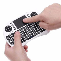Mini Teclado Sem Fio Touchpad Pc Tv Notebook Wifi Computador