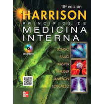 Libro: Harrison: Principios De Medicina Interna: Vol. 1 Y 2