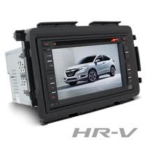 Central Multimidia Honda Hr-v Gps + Dvd + Tv + Moldura Hrv