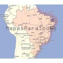 Mapas 2017 De Brasil P/ Gps Garmin