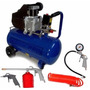 Compresor Aire 50 L 2.5 Hp Tbx Combo Kit Regalo