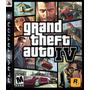 Grand Theft Auto 4 Subtitulado Espanol, Ps3 Disco Fisico