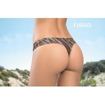 Bikini Cocot Colaless Ancha Estampada 12595 Traje De Baño