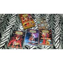 Coleção Dvds Super Heróis The Flash He Man Originais Zerados