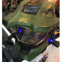 Oferta! Casco Halo Master Chief C Luces Para Disfraz Niño/ña