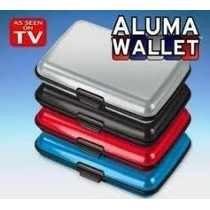Aluma Wallet Cartera Billetera Resistente Impermeable 100%