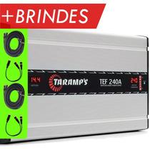 Fonte E Carregador De Baterias Taramps Tef-240 A Bivolt 14,4