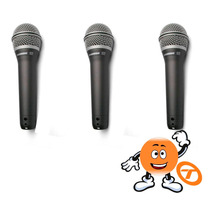 Kit C/ 3 Microfones Samson Q7 Frete Grátis