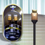 Diamond Gs 3020 Cabo Hdmi 2.0 4k 3,6m Ethernet Linha Gold