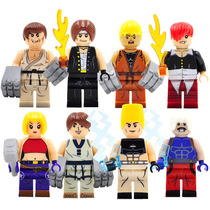 Set De King Of Figthers Iori Kyo Mary Compatible Con Lego