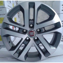 Rodas Fiat Toro 16 5x110 Grafite Diamantada