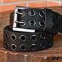 Cinto De Couro Personalizado Jeans Motos Roupas Ps4 Calça