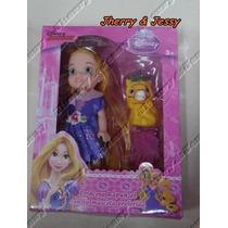Miniatura Boneca Princesa Disney Repunzel Enrolados + Brinde