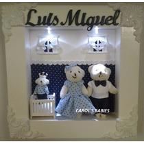 Porta Maternidade Com Led P Menino E Menina !!!