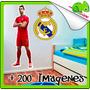 Vinilos Decorativos Deporte Futbol Soccer Messi Ronaldo Barc