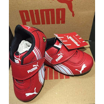 Tenis Infantil Bebe Puma Ferrari Vermelho Masculino Feminino
