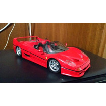 Miniatura Shell Ferrari F50 Escala 1/18 Embalagem Original