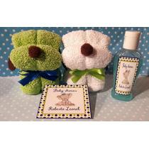 Perritos Figura Toalla Gel Y Jabón Baby Shower Bautizo Xv Añ