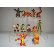 Bonecos Disney Peter Pan Mogli Pinóquio Pooh Tigrão Dama