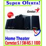 Cornetas Genius Sw - N 5.1 1000 Home Theater Súper Oferta!
