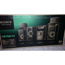 Equipo De Sonido Sony Genezi Con Pantalla Lcd 7