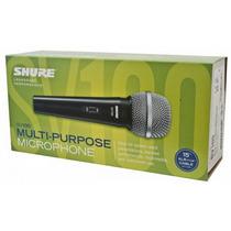 Microfone Shure Sv100 E Só Na Jrequipamentos Oferta