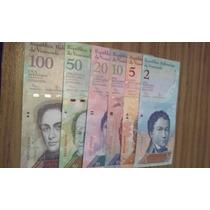 Lote De Billetes De Venezuela