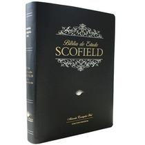 Bíblia De Estudo Scofild Capa De Luxo(tamanho Grande )