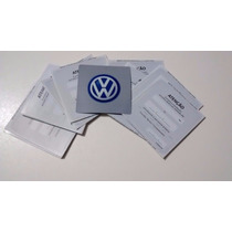 Etiqueta De Troca De Oleo Original Volkswagen Vw Nova