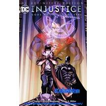 Dc Comics Definitive Injustice Año 3 Vol. 1 Batman Superman