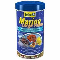 Ração Tetra Marine Large Flakes 80 Gr - Ração Para Peixes!!!