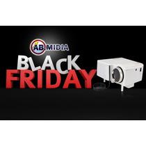 Mini Projetor Portatil Black Friday Led Show Hdmi Multimidi