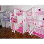 Casa Para Muñecas Barbie Mdf