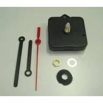 Maquina De Relogio Quartz Tic Tac Com Alça Eixo 13,5 Ou 16,5