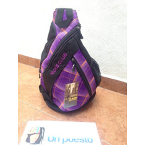 Mochila Nicksclub Triangular, Un Tirante, Diseño Super Cool!