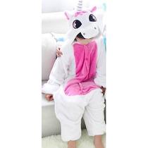 Pijama Macacão Unicornio Infantil Plush Chega Em 35 Dias