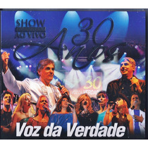 Cd Duplo Voz Da Verdade - 30 Anos - Ao Vivo (original)