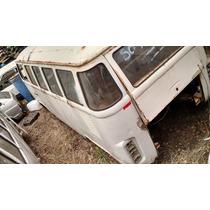 Vw Volkswagen Perua Kombi Sucata 1995 Branca Carcaça