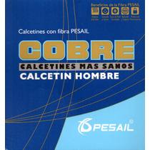 Calcetines Con Fibra De Cobre Planta Completa X Doce T43-46