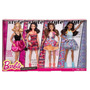 Set Deluxe 4 Barbies Fashionista Importado Original En Caja