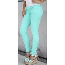 Jeans De Colores Para Dama
