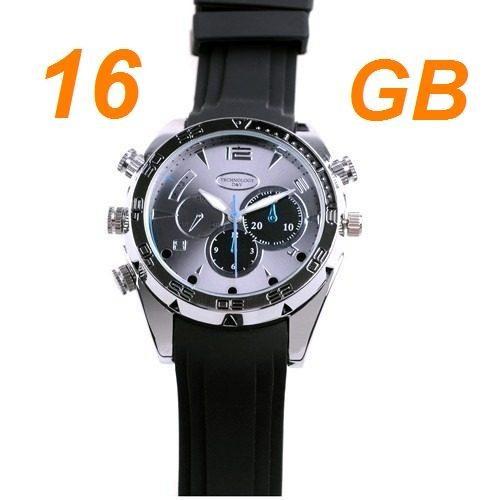 6f11d1c0692 Relógio Espião Visão Noturna W5000 Hd 1080p Melhor Preço!!! - R  399 ...