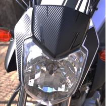 Adesivo Protetor Carb Carenagem Farol Moto Yamaha Factor 150