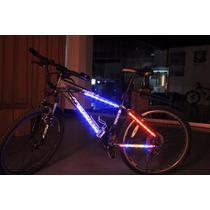Luces Led 14 Para Cuadro De Bicicleta