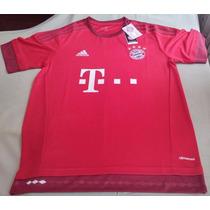 Camiseta Bayer Munich Roja Liquidacion