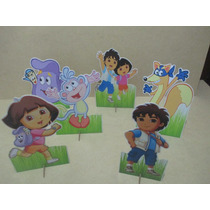 Dora Aventureira De Mesa,display,festa Infantil,mdf
