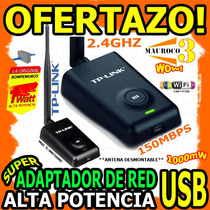 Wow Adaptador Usb Tlwn 7200nd 150mbps Wifi Laptop Pc Tp-link