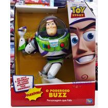 Boneco Buzz Lightyear Toystory- Fala 21 Frases Em Português