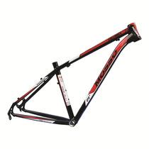 Quadro Bicicleta Mosso Columbia Alumínio 29x19preto/vermelho